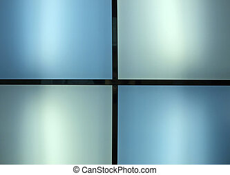 Light blue background Interior