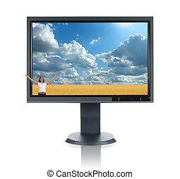 Lcd,  monitor