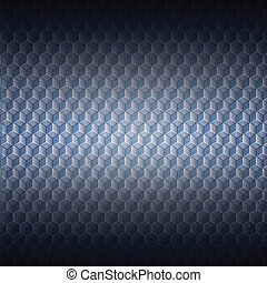 Abstract Technology background with 3d illusion