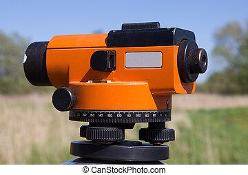 theodolite -  land surveyors tool