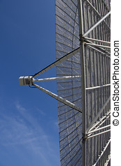 Parabolic antenna close-up - A close-up of the large antenna...