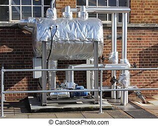 Condensate pumping set - A Condensate pumping set with...