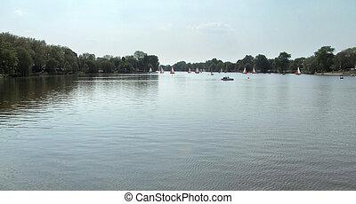 lake in North Rhine-Westphalia - a lake in North...