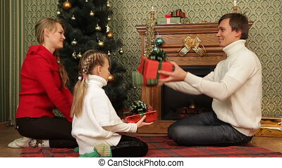 Presenting gifts