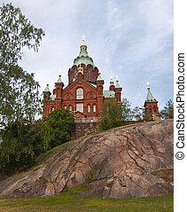 Uspensky cathedral in Helsinki, Finland - Built in 1868, it...