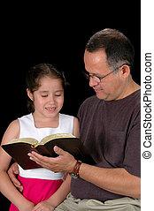 父親, 閱讀, 女儿
