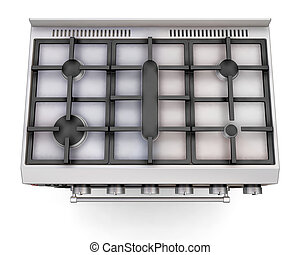 Top of a cooker