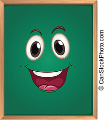 a green board - illustration of a green board