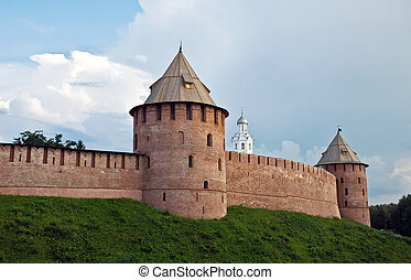 The Kremlin Detinets-stronghold Great Veliky Novgorod -...