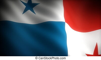 Flag of Panama seamless