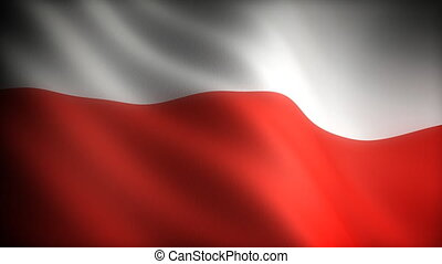 Flag of Poland seamless