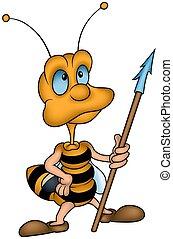kevés, méh, lándzsa