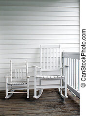 Adult & Child's Rocking Chairs - An adult\\\'s and...