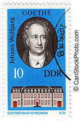 CUBA - CIRCA 1982 : stamp printed in DDR now is Germany -...