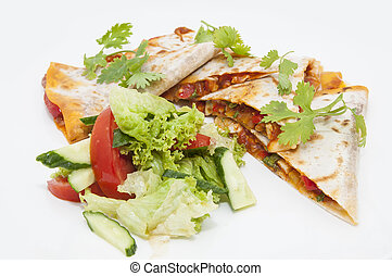 food of Mexican cuisine - Mexican food from the kitchen on a...