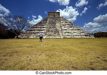 imagen, toma,  quetzalcoatl