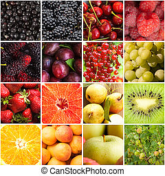 Various fruits berries - Various fruits and berries...