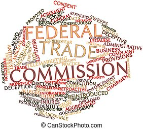 Word cloud for Federal Trade Commission - Abstract word...