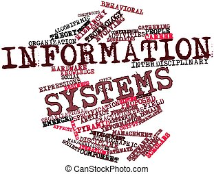 Word cloud for Information systems - Abstract word cloud for...