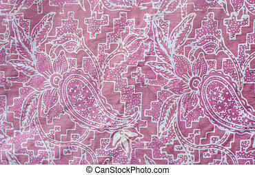 Batik design in Thailand
