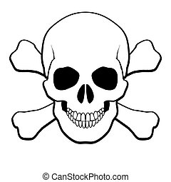 Skull and crossbones - Pirate Skull and Crossbones...