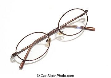 Eye Glasses - Beautiful glasses isolated on white background