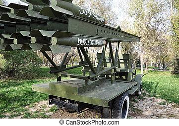 Elements of combat vehicle KATYUSHA - Elements of a KATYUSHA...