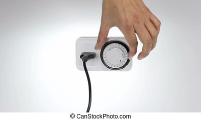 timer socket plug unplug - time clock socket with european...