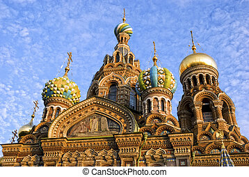 Church of Savior on Spilled Blood St Petersburg, Russia