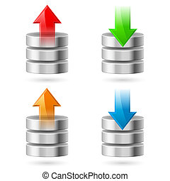 Database - Computer Database with Upload and Download...