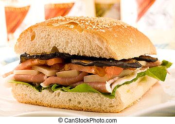 Multi layered sandwich