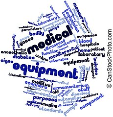 Medical equipment - Abstract word cloud for Medical...