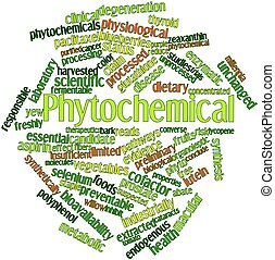 Phytochemical - Abstract word cloud for Phytochemical with...