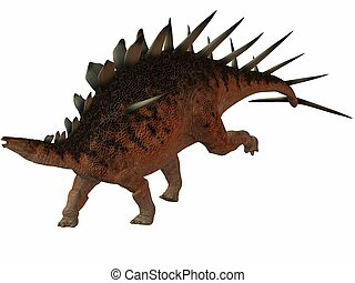 Kentrosaurus - 3D Render of an Kentrosaurus-3D Dinosaur