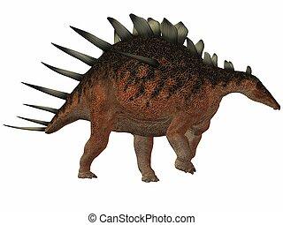 Kentrosaurus - 3D Render of an Kentrosaurus-3D Dinosaur