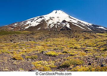 Villarrica volcano, Chile, South America