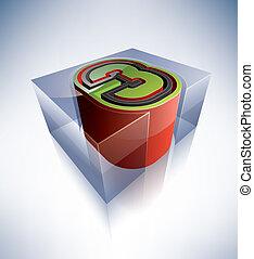 3D alphabet: 3