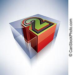 3D alphabet: 2