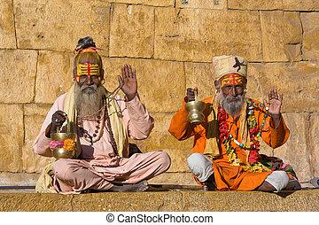 indio, Sadhu, (holy, man)
