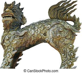 Chinese artifact dragon