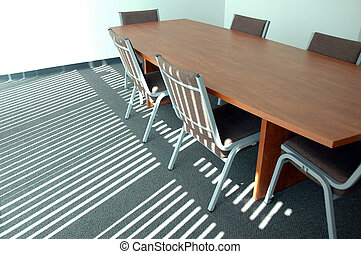Board Room - Boardroom with sunlight effect on floor
