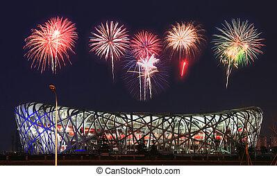 "National Olympic Stadium ""Bird Nest"" - National Olympic..."
