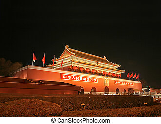 Tian-An-Men Square in central Beijing