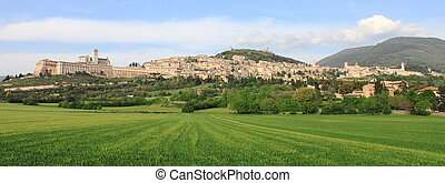 Panorama of Assisi