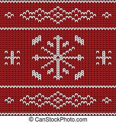 Knit pattern model