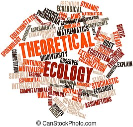 Word cloud for Theoretical ecology - Abstract word cloud for...