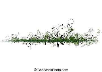 Green Environmental Friendly Abstract Background in Green...