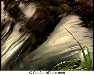 WATER river defocus