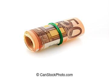 Euro money.