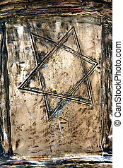 Bronze Star of David